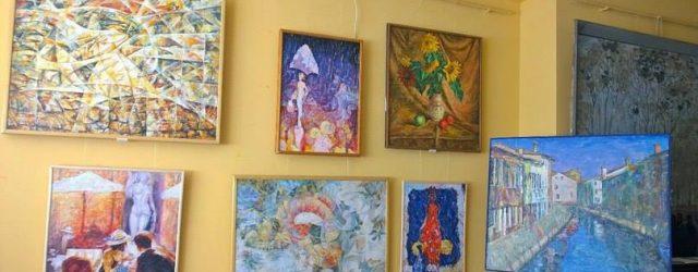 Відкриття виставки Миколи Канєвського