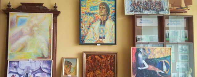 Виставка картин Миколи Канєвського відкрита до вересня